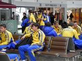 Сборная Украины в составе восьми человек вылетела в Испанию