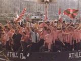 400 фанатов «Атлетика» отправились в Будапешт вместо Бухареста