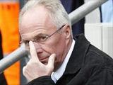 Свен-Еран Эрикссон: «Не люблю оставаться без дела дольше двух недель»