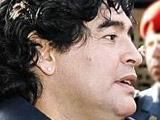 Марадона презентовал свой телеканал о футболе