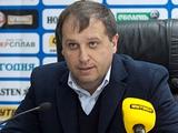 Юрий Вернидуб: «Домашнее поражение от «Динамо» — очень сильный удар для меня»