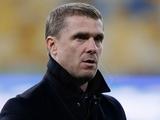 Сергей Ребров: «Понравилось желание тренеров сборной иметь несколько вариантов ведения игры»