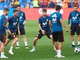 Футболистам сборной Испании пришлось разнимать Серхио Рамоса и президента федерации