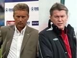 Олег Блохин и Леонид Буряк рассказали о своих шансах возглавить «Динамо»