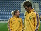 ФОТОрепортаж: тренировка сборной Украины в Петах-Тикве (24 фото)