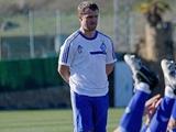 «Динамо» провело первую тренировку под руководством Реброва