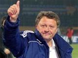 Мирон Маркевич — главный тренер сборной Украины. Юрий Калитвинцев - ассиcтент