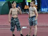 «Левски» оштрафован за появление на поле детей со свастикой (ФОТО)