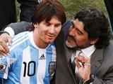 Марадона: «У меня и у Месси есть то, чего нет ни у одного другого футболиста, — скорость мысли»