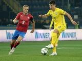 Руслан Малиновский — лучший игрок матча Украина — Чехия