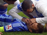 Травма Олега Гусева. ВИДЕО из-за ворот, подробности