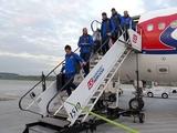Сборная Украины прибыла в Краков, на матч с Косово (ВИДЕО)