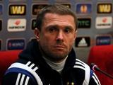 Сергей РЕБРОВ: «Наша цель — финишировать на первом месте в группе»