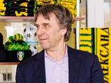 Сергей Рафаилов: «Гримм в Украину будет приезжать раз в две недели»