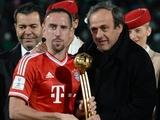 Франк Рибери признан лучшим игроком клубного чемпионата мира