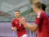 Миккель Дуэлунд в матче со сборной Финляндии U21