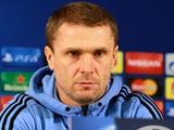 Сергей РЕБРОВ: «Почему-то, по мнению журналистов, мы всегда встречаемся с командами, у которых кризис»