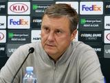 «Астана» — «Динамо» — 0:1. Послематчевая пресс-конференция (ВИДЕО)