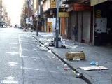В ЮАР продолжается зачистка улиц
