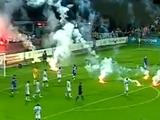 За беспорядки на стадионе «Севастополь» только оштрафован?