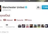 Неизвестные взломали твиттер «Манчестер Юнайтед»