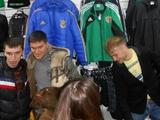 Безус и Селин попрощались с болельщиками в клубном магазине «Ворсклы»