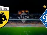Статистика: матчи «Динамо» против греческих команд