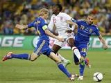 Англия — Украина: стартовые составы от Goal.com