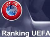 Таблица коэффициентов УЕФА: «Шахтер» тянет Украину вниз
