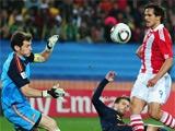 ЧМ-2010. 1/4 финала. Парагвай — Испания — 0:1 (ВИДЕО)