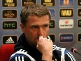 Сергей РЕБРОВ: «Меня устроит победа над «Ольборгом» с любым счетом, даже 1:0»