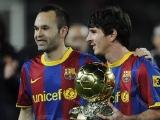 Андрес Иньеста: «Золотой мяч» отдал бы Месси»