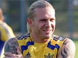 Воронин может принять участие в матче сборной Украины против Эстонии в Таллине