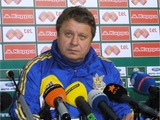Болгария — Украина — 0:1. Послематчевая пресс-конференция