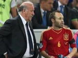 Дель Боске: «Надеюсь, «Золотой мяч» получит Иньеста»
