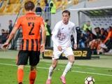 «Волынь» не может договориться со словацким клубом по цене трансфера Шаповала