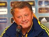 Мирон Маркевич: «В Лиге Европы мы играем лучше»