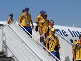 Сборная Украины прибыла на Кипр