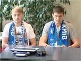 Безус и Селин получили в «Динамо» по два номера