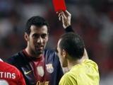 Бускетс дисквалифицирован на два матча Лиги чемпионов