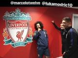 Фотография с игроками «Реала» спровоцировала болельщиков «Ливерпуля» (ФОТО)
