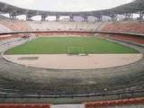 Газон на стадионе «Наполи» — в  ужасном состоянии