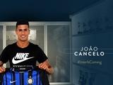 «Интер» официально объявил о переходе Канселу
