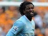 Адебайор пригрозил уйти из «Манчестер Сити»