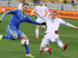 Cборная Украины в товарищеском матче разошлась миром с Латвией (ВИДЕО)