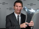 Первым обладателем новой награды УЕФА стал неевропеец Месси