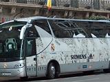 Автобус «Реала» опять подвергся нападению