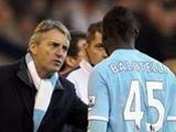 В наказание Манчини не даст Балотелли сыграть против «Челси»