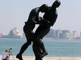 В Катаре установили статую, посвященную стычке Зидана и Матерацци