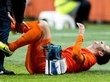 Ван дер Варт сломал ногу в матче с Колумбией